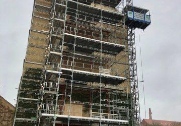 Leverandører af murerstilladsog montage - Jylland - CS City Stilladser