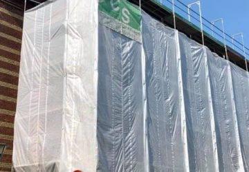 Plastikinddækning - Stilladstilbehør