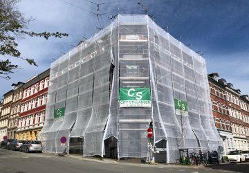 Stilladsudlejning til erhverv og private - CS City Stilladser ApS